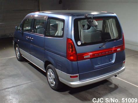 nissan serena 2000 2000 nissan serena blue for sale stock no 51009