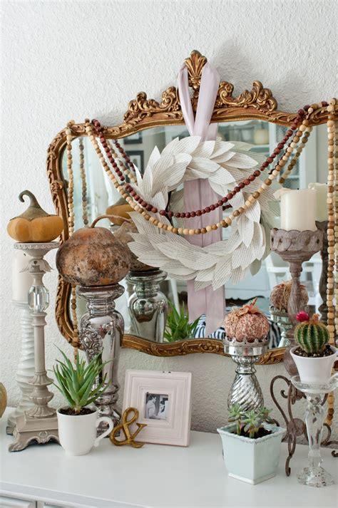 Handmade Fall Decorations - domestic fashionista handmade fall mantel