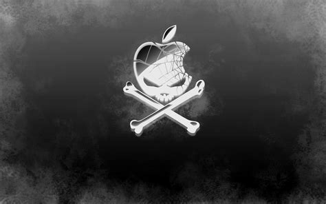 wallpaper apple skull cool apple logo wallpapers wallpaper cave