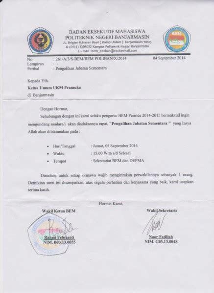 contoh dan cara membuat surat resmi herawati medium