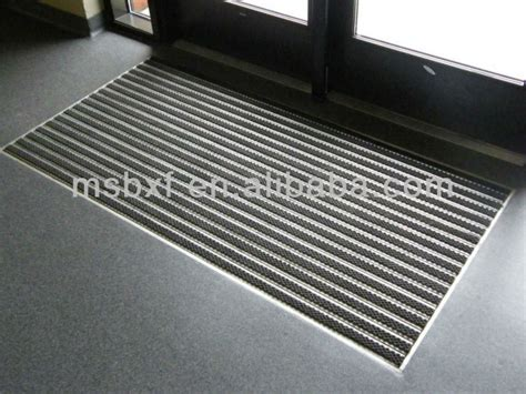 Entrance Door Mats Aluminium Entrance Mats With Carpet Inserted Entrance Door