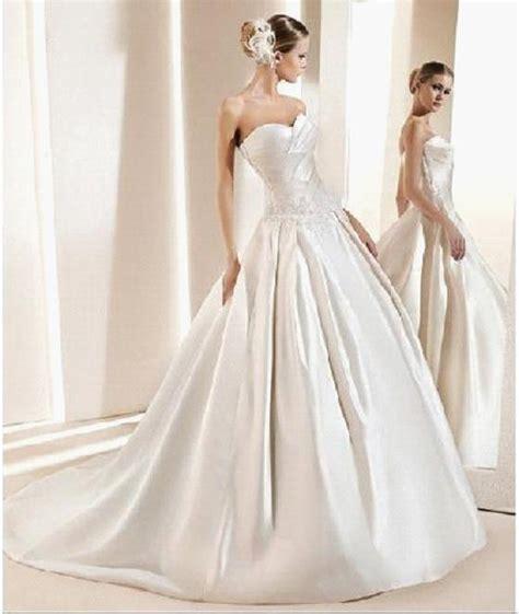 satin silk wedding dresses china wedding dress with silk satin 940 china wedding