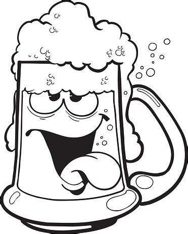 beer cartoon black and white black and white beer cartoon clipart best