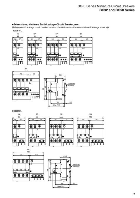 miniature circuit breaker wiring diagram wiring diagram