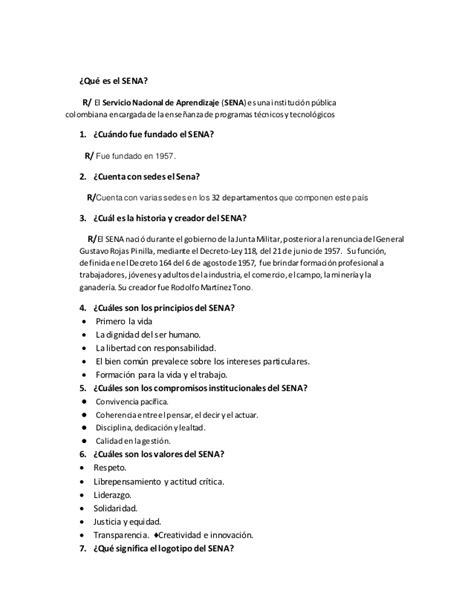preguntas abiertas para un emprendimiento 10 preguntas sobre el sena