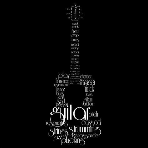typography guitar tutorial guitar wordcloud by ls coloringlife on deviantart