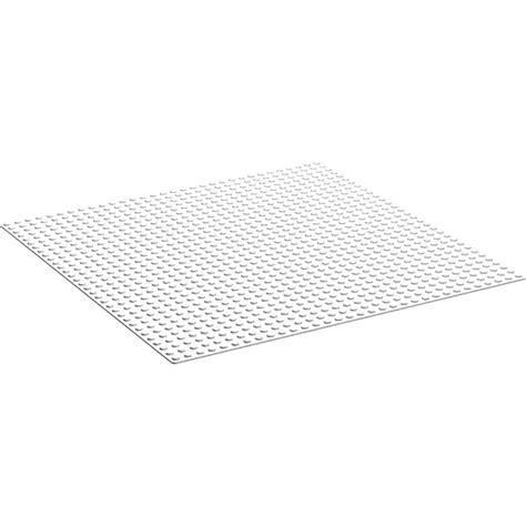 lego loz baseplate 4 4cm white lego white baseplate 32 x 32 3811 brick owl lego