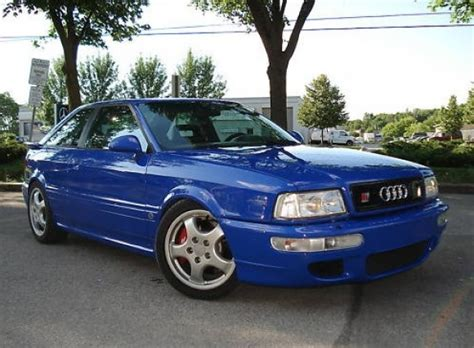 1990 Audi Coupe Quattro For Sale Rs2 Esque 1991 Audi Quattro Coupe Bring A Trailer