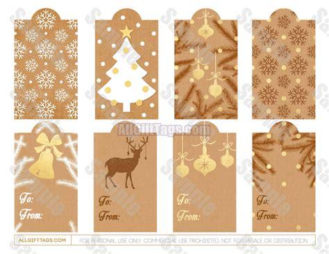 printable rustic christmas gift tags rustic christmas gift tags