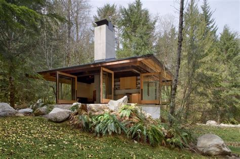 tye river cabin by kundig architects