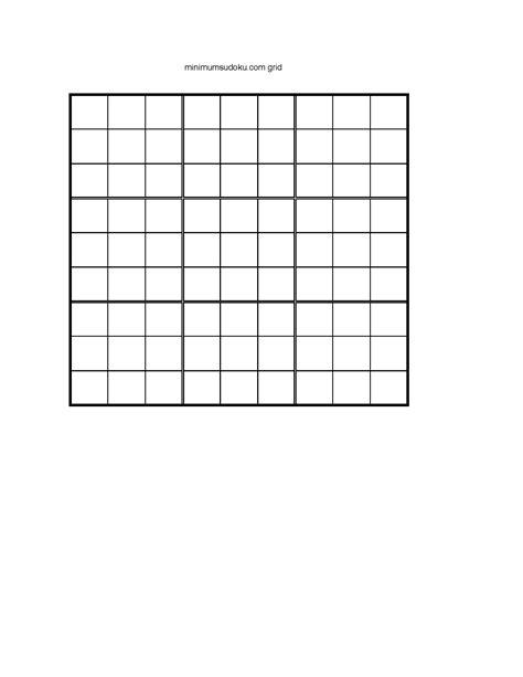 blank sudoku grid 8 best images of sudoku printable grids 9x9 blank sudoku