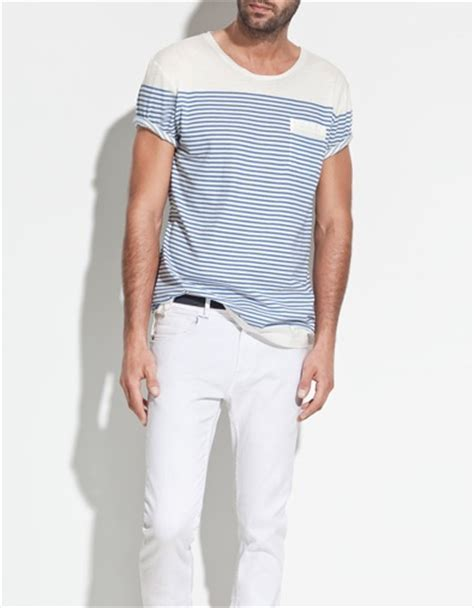 zara boat neck t shirt boat neck t shirt collection man new collection