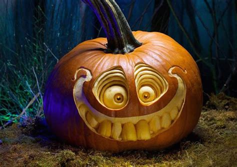 best carved pumpkins amazing carving pumpkins design overdose