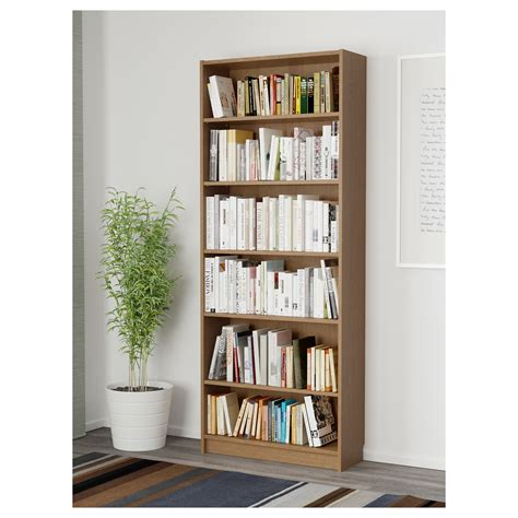 billy bookcase billy bookcase oak veneer 80x28x202 cm ikea