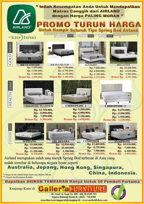 Kasur Busa Airland promo dan harga airland bed toko furniture dan