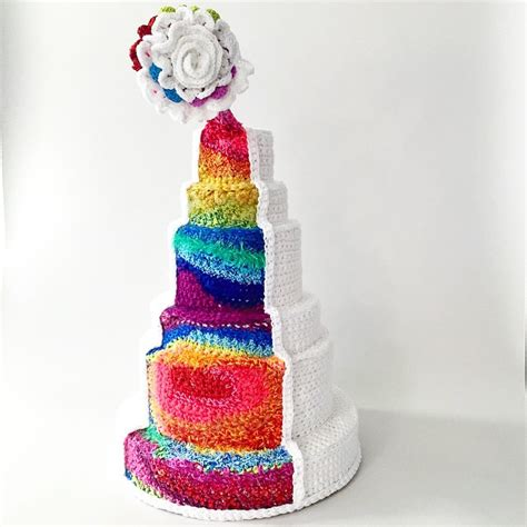 Wedding Reception Cakes by Lovely Rainbow Wedding Cake For Reception Ideas