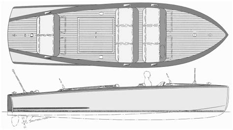 wooden runabout boat plans free belle isle 23 foot classic mahogany barrelback runabout