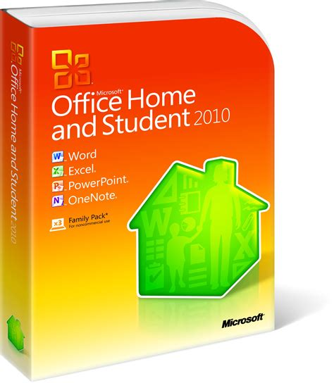 Microsoft Office Home And Student microsoft office 2010 home student box