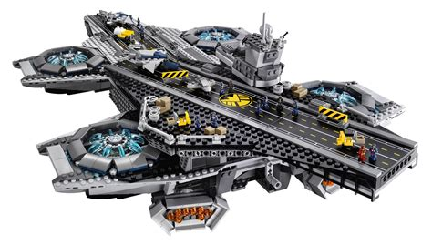 Lego Exclusive Heroes Shield Helicarrier 76044 assemble lego reveals shield