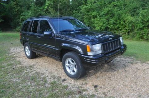 1998 jeep grand 5 9 purchase used 1998 jeep grand 5 9 limited sport