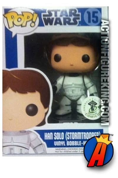 Funko Pop Original Han Wars funko pop wars han stormtrooper figure 15