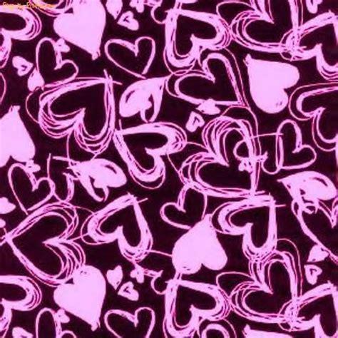 Hearts. Background. Pink. Black. Photo by X0EMMYbBy   Photobucket