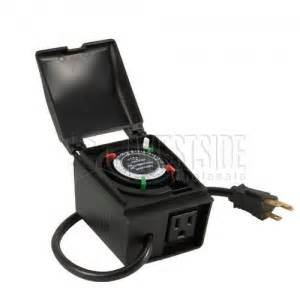 landscape light timer intermatic hb35r 24 hour in landscape