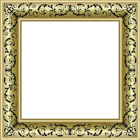 printable christmas ornament picture frames gold photo frame png with black ornaments منتدى مدينة