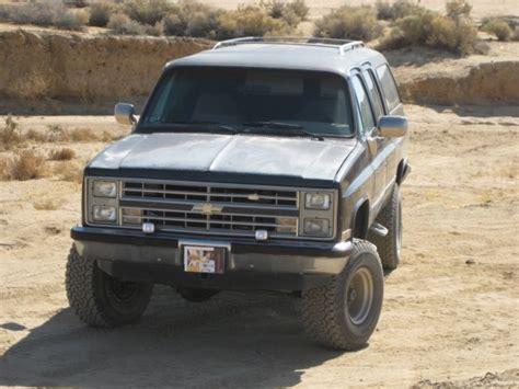 1986 chevrolet 4x4 1986 chevrolet suburban 4x4 1 2 ton