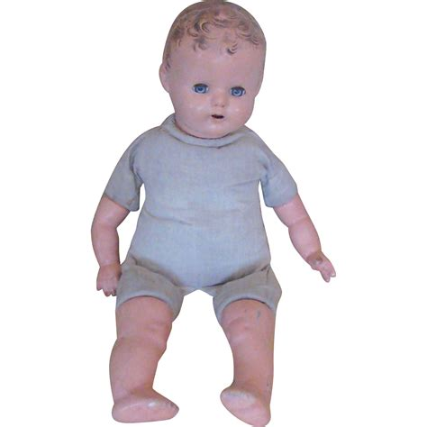 composition doll marked usa 16 vintage cloth 16 quot doll with composition arms legs