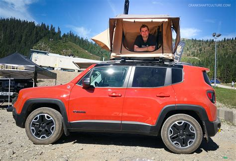 renegade jeep roof jeep roof top tent 2 3 person roof top tent packed