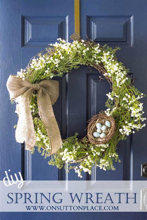 diy spring wreath simply spring a diy wreath