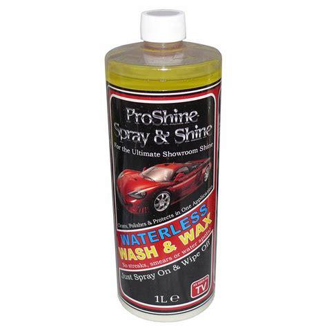 Waterless Wax 1ltr proshine spray shine 1ltr valetclub