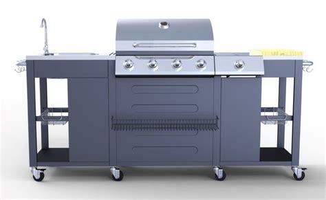 Outdoor Küche Backsplash Ideen by Outdoor K 252 Che Grill