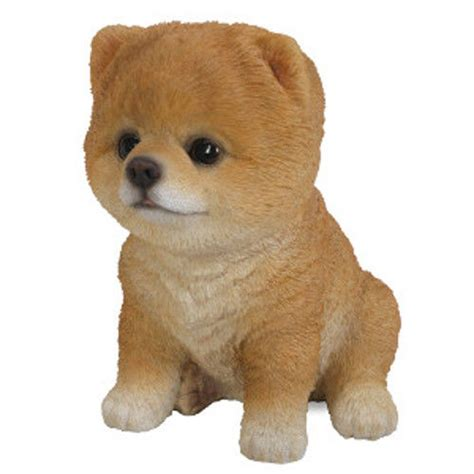puppy pals pet pals pomeranian puppy ornament by arts gardening delights