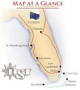 map of florida intracoastal waterway florida bahamas cruise 171 r j tours
