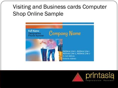 Pc Gift Card Stores - computer shops welcome for visiting cards printasia in