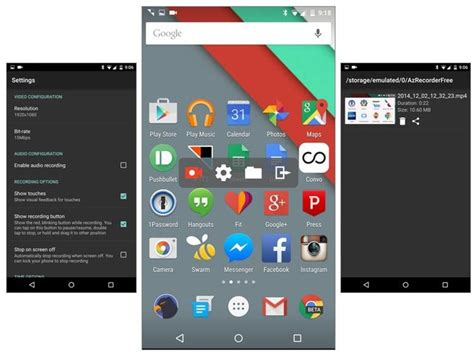 android record screen graba todo lo que haces en la pantalla de tu android con az screen recorder