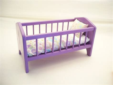 Wooden Baby Doll Cribs by Wood Doll Bedbaby Doll Crib 18 Inch Doll Crib By