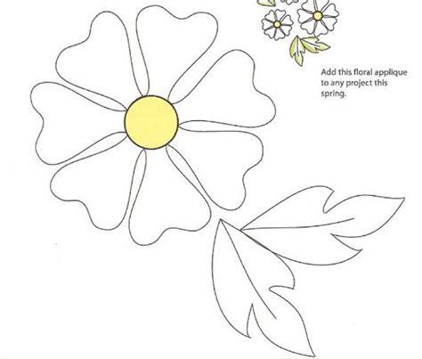 flower pattern block template appliques applique patterns and flower applique patterns