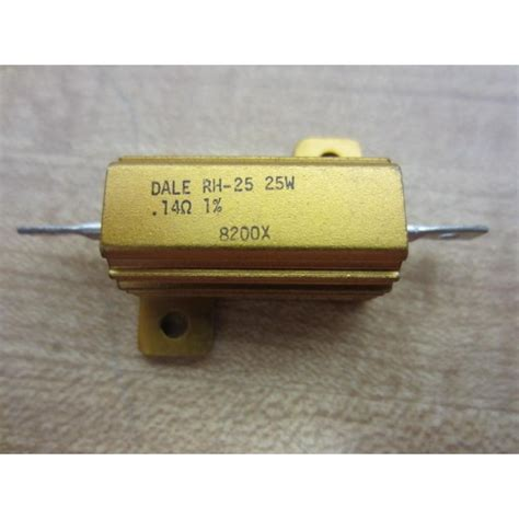 vishay rh resistors dale rh 25 vishay rh25 rh 25 resistor 14ω used mara industrial
