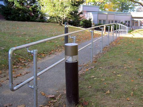 Handicap Stair Rail Handicap Handrail Easy To Install Ada Compliant Railing
