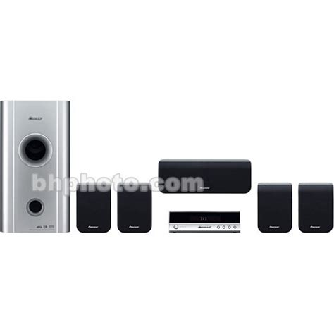 pioneer hts 260 home theater system hts260 b h photo