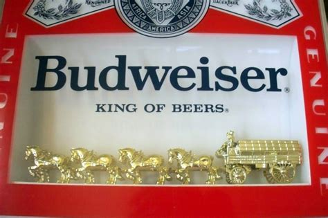 lighted budweiser sign collectors weekly