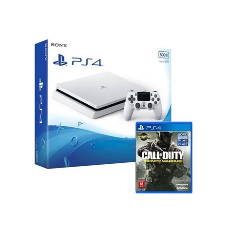 console ps4 offerte console ps4 slim 500g blanche call of duty infinite
