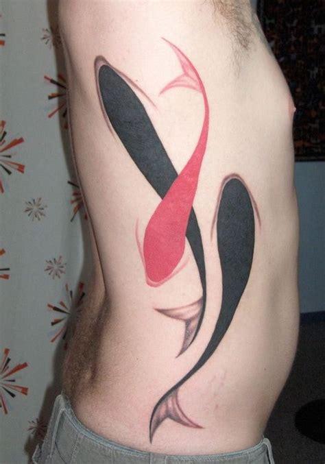 minimalist pisces tattoo minimalist koi fish tattoos