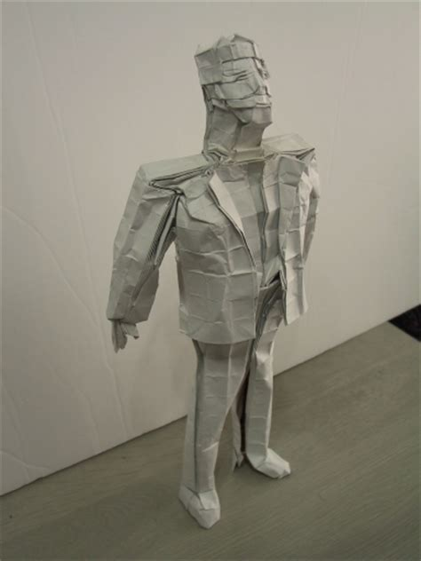 Origami Human Figure - the origami forum view topic tomohiro tachi