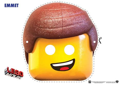 lego mask printable template lego movie free printable masks oh my fiesta in english