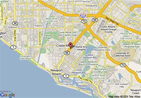 inn express california locations map map of inn express costa mesa costa mesa
