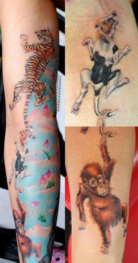 animal tattoo london 13 best images about colour tattoos on pinterest horns